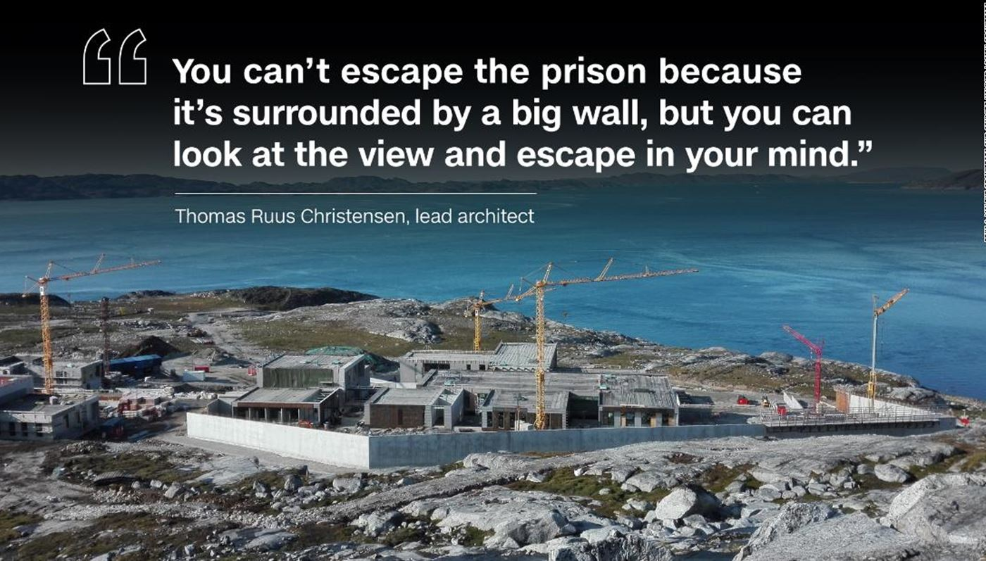 CNN article: Humane prison in Nuuk, Greenland